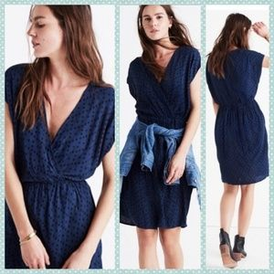 Madewell Faux Wrap Dress